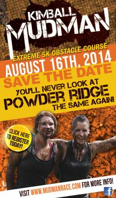 Mudman at Powder Ridge!