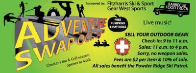 Adventure Swap – October 25th at Powder Ridge!